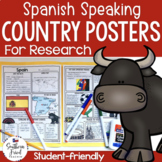 Country Research Project Posters - Spanish Speaking Set (Special Request)