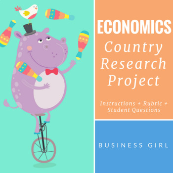 Economics Country Research Project Presentation Materials (Part 3)