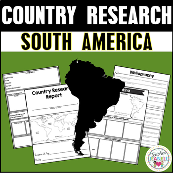 Country Research Project - South America