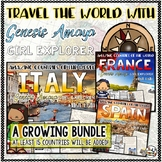 Country Research Project a Genesis Amaya Adventure BUNDLE