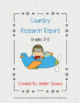 Country Research Report for ELA and Social Studies CCSS