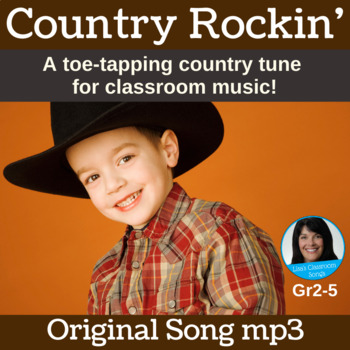 Country Song for Kids | Country Rockin' by Lisa Gillam | Song mp3
