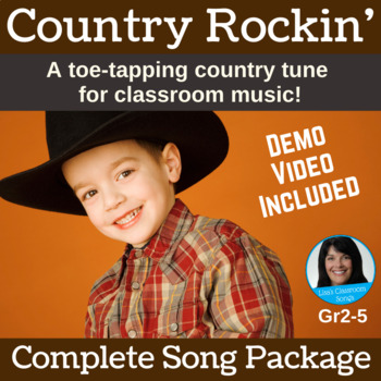 Country Song with Cajon Lesson | Country Rockin' | Complete Song Package