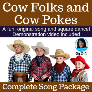 "Country Square Dance | ""Cow Folks and Cow Pokes"" 