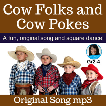 "Country Square Dance | ""Cow Folks and Cow Pokes"" by Lisa Gillam 