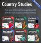 Country Studies Bundle (English Speaking Countries)