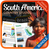 Country Studies Bundle (South America)