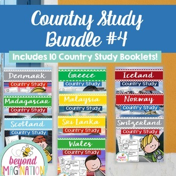 Booklet Bundle Country Study Project Unit #4