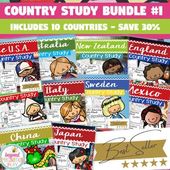 Booklet Bundle Country Study Project Unit #1