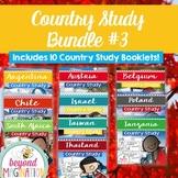 Booklet Bundle Country Study Project Unit #3