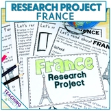 Country Research Project - A Country Study About France