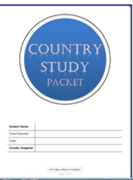 Country Study Graphic Organizer