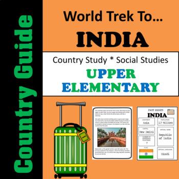Country Study India - Classroom Passport - Upper Elementary
