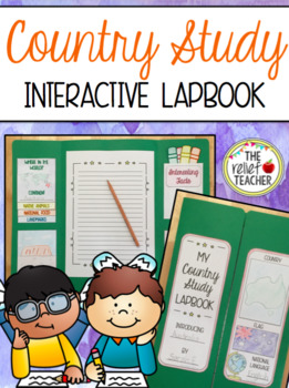 Country Study Interactive Lapbook - Perfect for the 2016 R