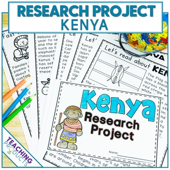 Country Research Project - A Country Study About Kenya