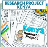 Country Research Project - A Country Study About Kenya wit