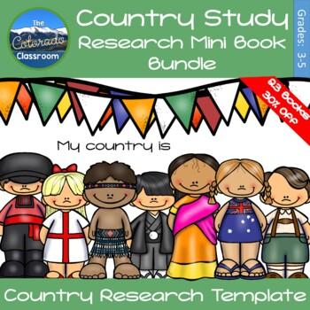 Country Study Mini Books Bundle