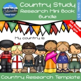 Country Study Mini Books Bundle