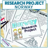 Country Research Project - A Country Study About Norway
