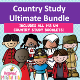 Booklet Ultimate Bundle Country Study Project Unit