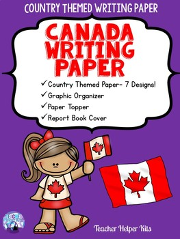 Country Study- Writing Paper BUNDLE