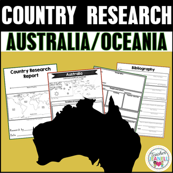 Country and Territory Research Project - Australia/Oceania