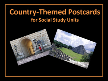 Countries: Themed Post Cards (Around the World)
