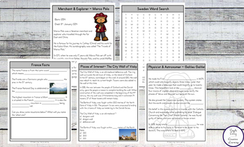 Country Unit Studies Pack 1