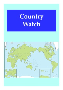 Country Watch: Charts and Graphs for English Language Learning