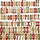 Country Western Alphabet and Number Clipart (01) by Poppydreamz
