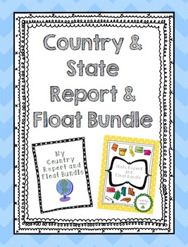 Country and State Report and Float BUNDLE