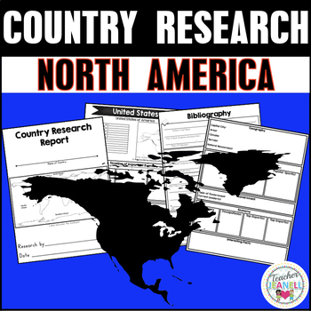 Country and Territory Research Project - North America