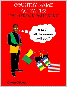 Country name activities - The African Continent