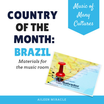 Country of the Month: Brazil {Set for the Music Room}