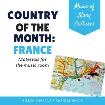 Country of the Month: France {Set for the Music Room}