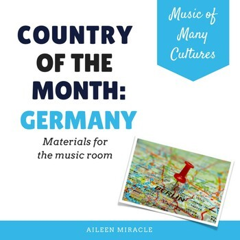 Country of the Month: Germany {Set for the Music Room}