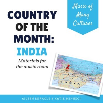 Country of the Month: India {Set for the Music Room}