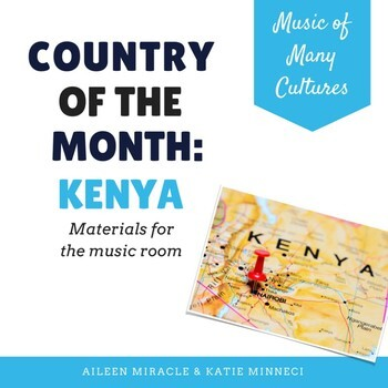 Country of the Month: Kenya {Set for the Music Room}