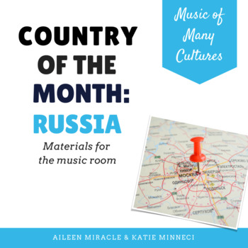 Country of the Month: Russia {Set for the Music Room}