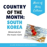 Country of the Month: South Korea {Set for the Music Room}