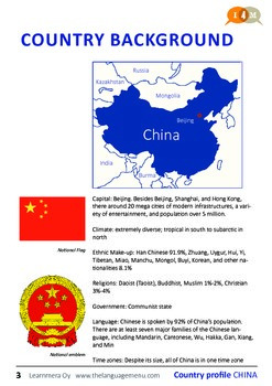 Country profile - China