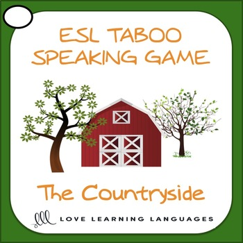 Countryside - ESL Taboo Speaking Game