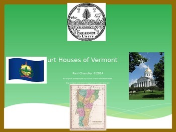 County Court Houses of Vermont