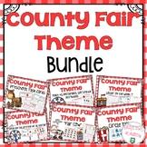 County Fair Theme Preschool Curriculum Bundle