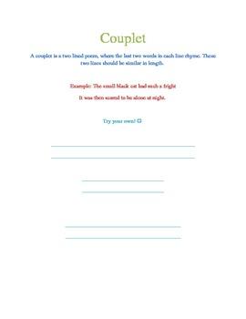 Writing couplets teaching resources teachers pay teachers ibookread Download