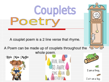 Couplet Poetry PPT Editable