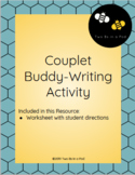 Couplets Buddy Writing Centers Activity