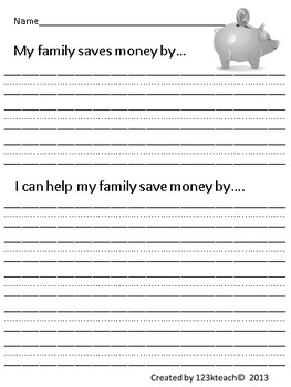 Coupon Binder -Teach your students or children the power of saving money