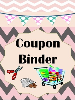 Coupon Binder -Teach your students or children the power o