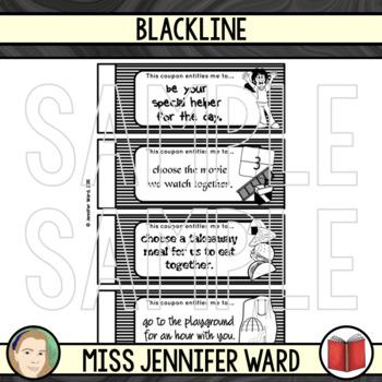 Coupon Book (Blackline)